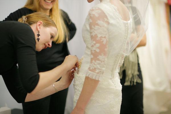 Свадебное платье сшитое своими руками фото